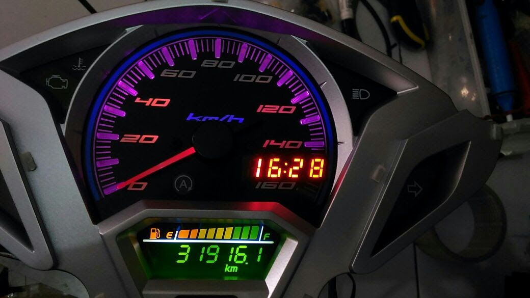 Wiring Diagram Speedometer Vario 125 Old