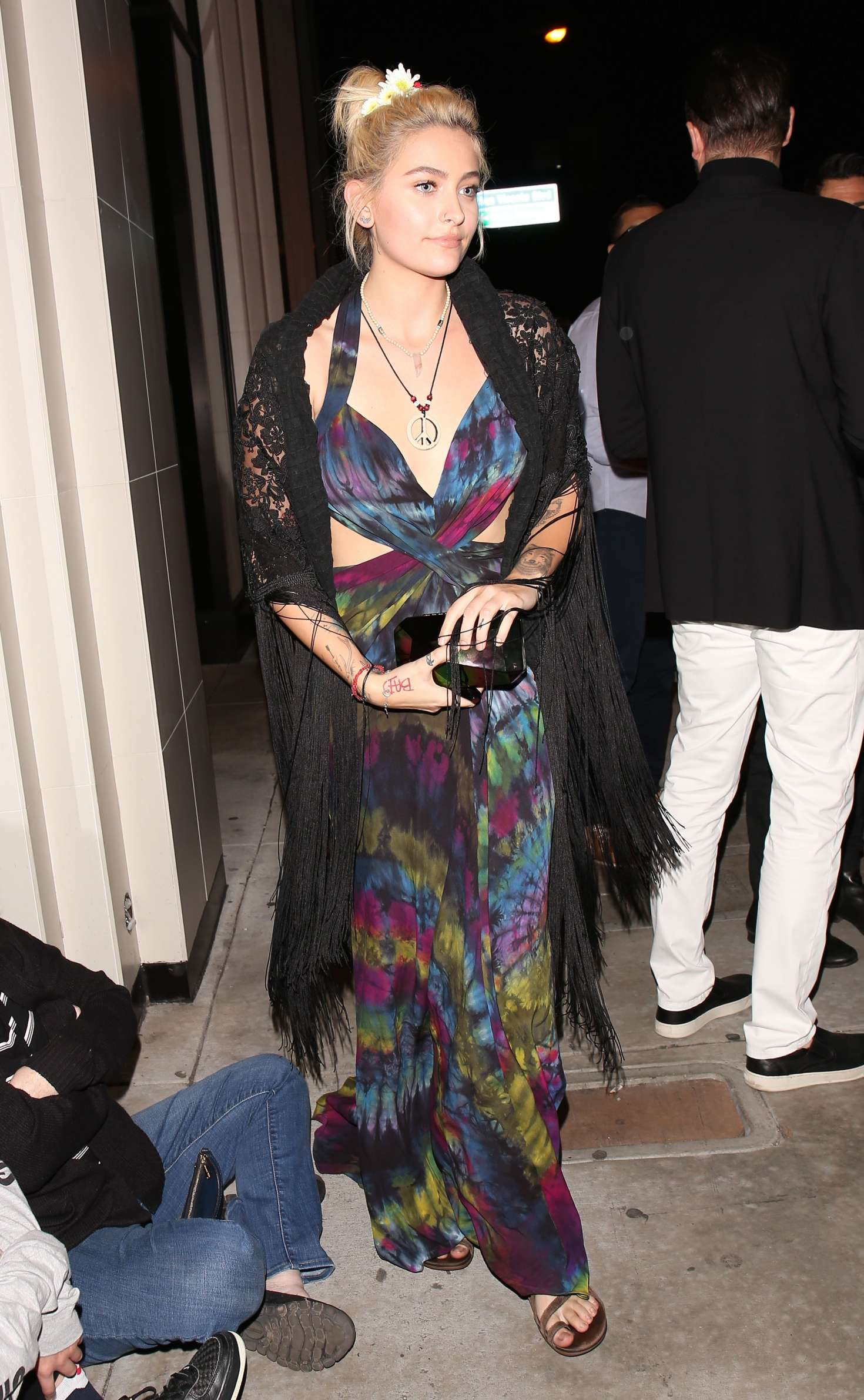Paris Jackson at Republic Records Grammy After Party in LA