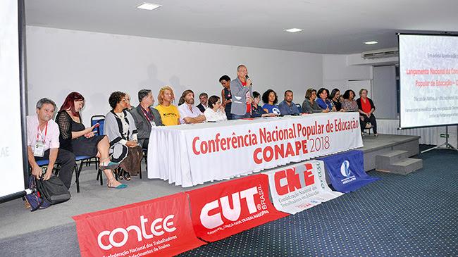 Resultado de imagem para Conferência Nacional Popular de Educação