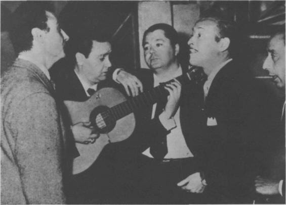Troilo, Goyeneche, Grela y Cardenas