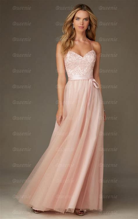 Sale Light Pink Bridesmaid Dress BNNCL0008 Bridesmaid UK