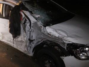 Motociclista não resistiu aos ferimentos após bater contra um carro na PR-323 (Foto: Arquivo Pessoal/Giovane Ropelli)