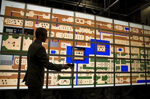 Legend of Zelda map visualization by culturevis.