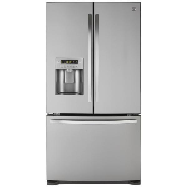 Kenmore 27 cu. ft. French Door Bottom-Freezer Refrigerator w/ Air Filter
