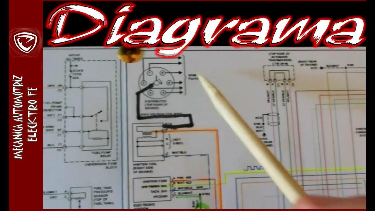 Lectura de diagrama de encendido electronico automotriz ...