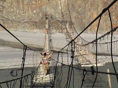 Hussaini Bridge, Pakistan