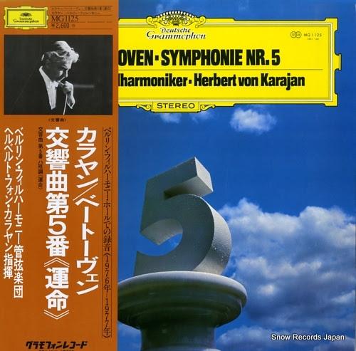 KARAJAN, HERBERT VON beethoven; symphonie no.5