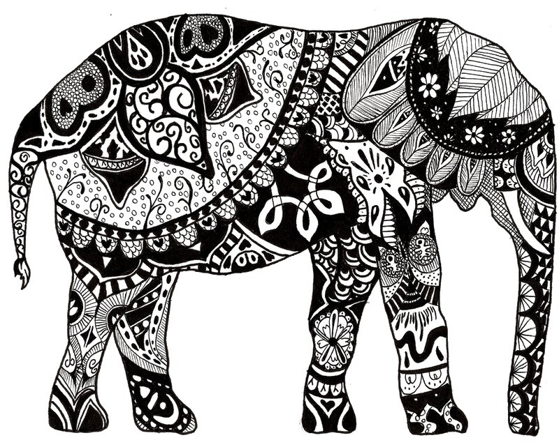 Hindu Elephant Drawing At Getdrawingscom Free For Personal Use