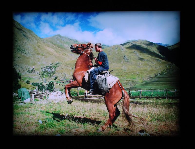 Paata on horseback