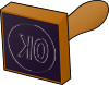 Stamp 2 Clip Art