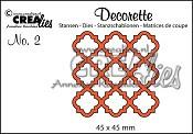 Decorette stans no. 2 / Decorette die no. 2