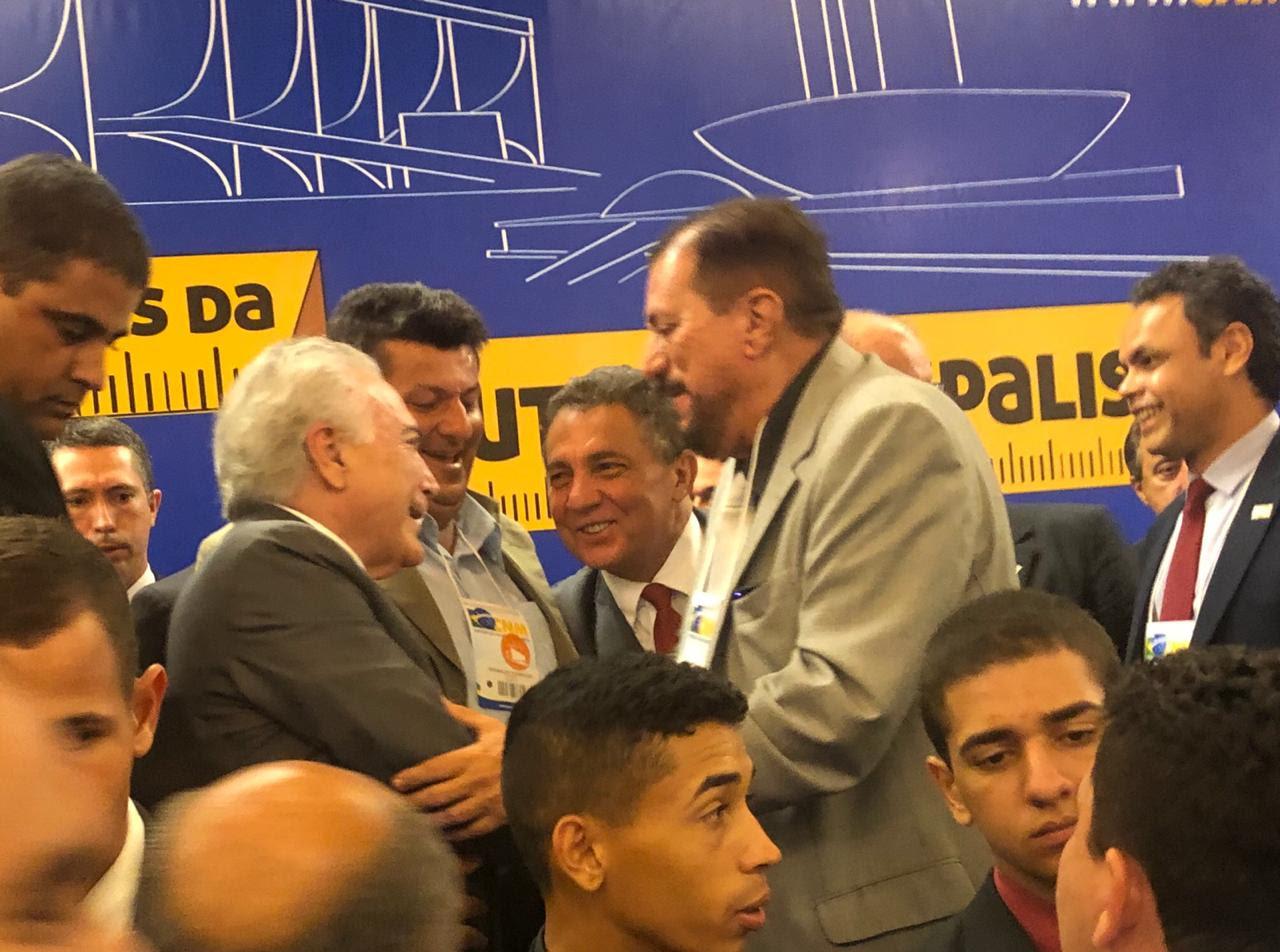 Cleomar Tema destaca como muito positivo encontro do presidente Temer com prefeitos