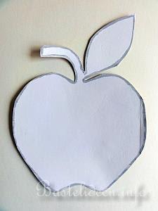 Mosaik Apfel Kunstwerk E