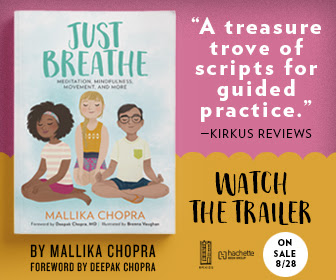 'Just Breathe' by Mallika Chopra