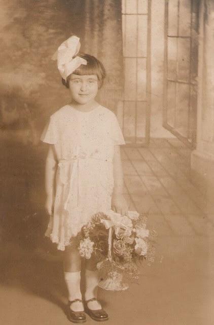 Mom as Flower Girl