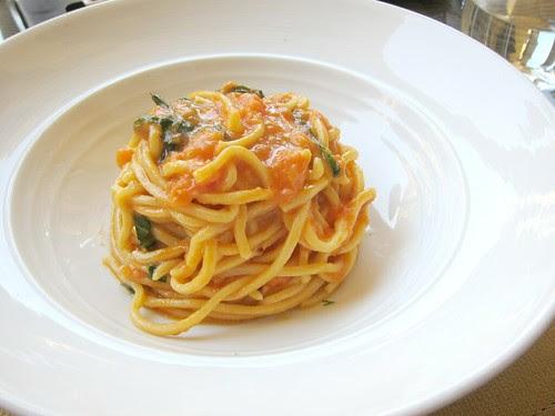 Scarpetta's Spaghetti, Tomato, Basil
