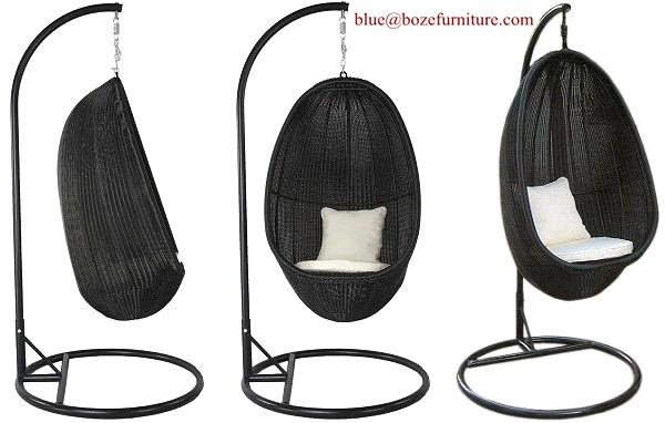 Outdoor Furniture Rattan Hammock / Swing Chair (BZ-W002) (BZ-W017 ...