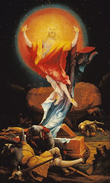Titulo de la imágen Mathias (Mathis Gothart) Grünewald - Resurrección de Cristo