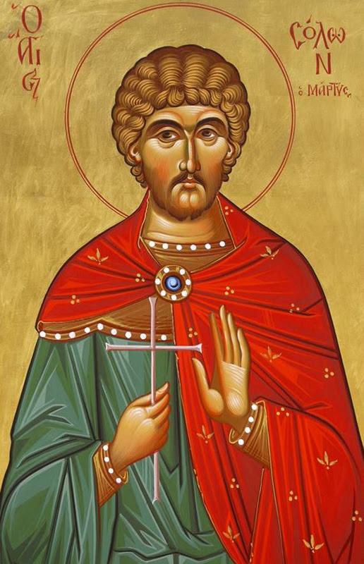 IMG ST. SOLON, Martyr