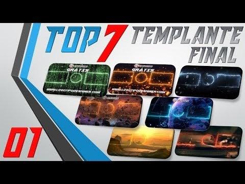 TOP 07 TEMPLANTE FINAL #01 Logo Tipo DEsigner Grátis
