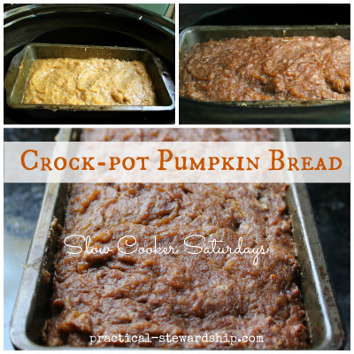Pumpkin Bread Recipe in the Crock-Pot or Not