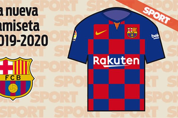 32f225d21e0 Barcelona Set To Mark 20 Years With Nike With Hideous Bar Code Kit