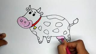 All Clip Of Cara Menggambar Binatang Sapi Bhclipcom