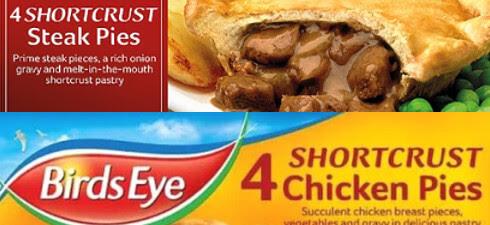 Allergen Recall: Birds Eye Chicken Pies - Pochat Training