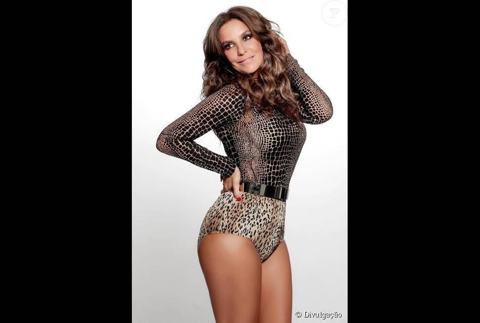 Ivete Sangalo contou nos bastidores do 'Domingão do Faustão' que não descuida de seu corpo: 'Vivo de dieta', assumiu