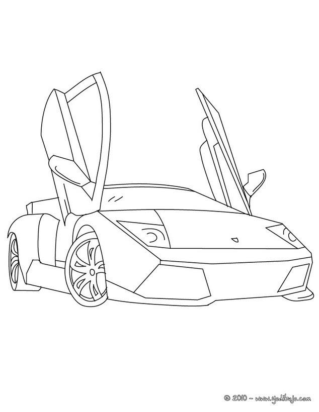 Dibujos Para Colorear Lamborghini Murcielago Eshellokidscom