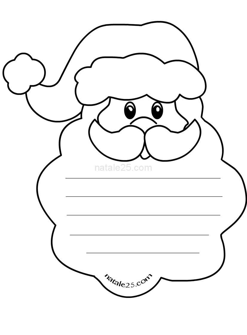 Letterine Di Natale Per Bambini Da Colorare Natale 25