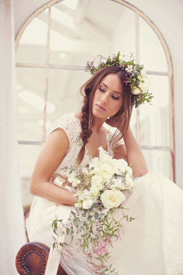 #wedding flower crown