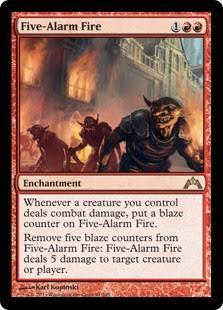 Five-Alarm Fire