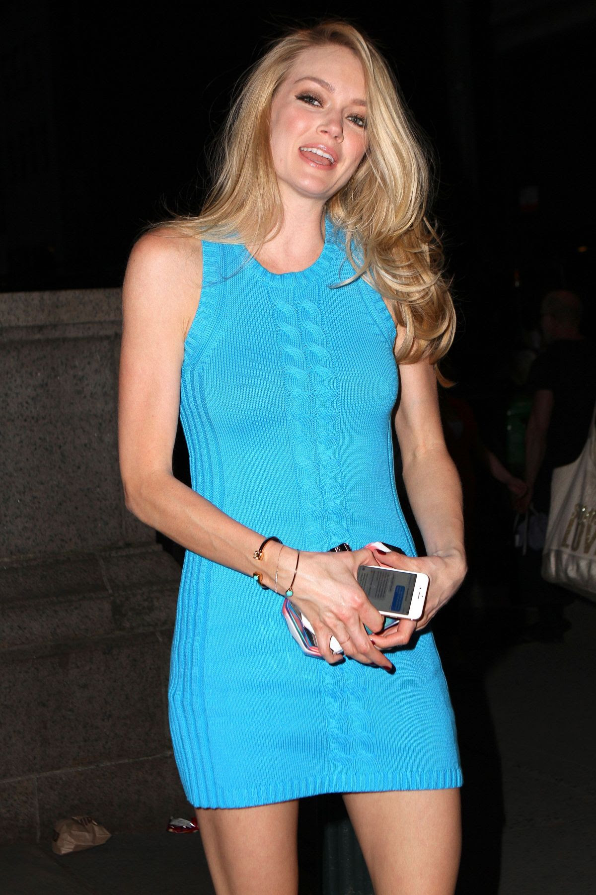 LINDSAY ELLINGSON at Bryant Park Grill in New York