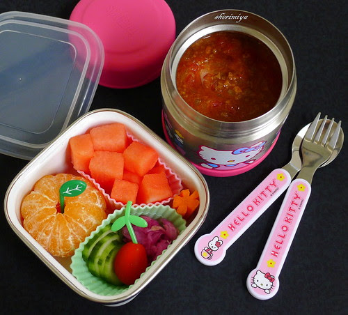 Tasty Chili Bento by sherimiya ♥