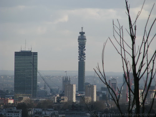 BT Tower view