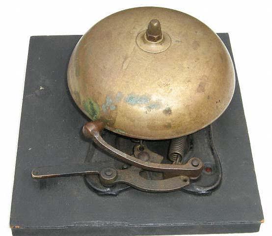 John's 1870's emergency trip bell.