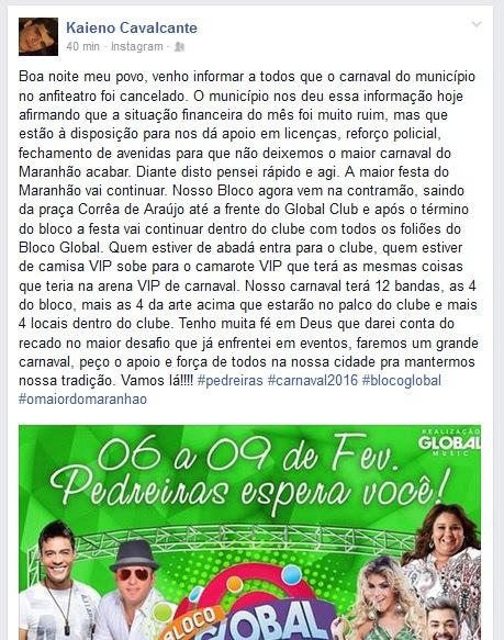 Blog do Carlinhos
