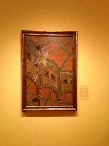 Edgar Degas, Miss La La at the Cirque Fernando
