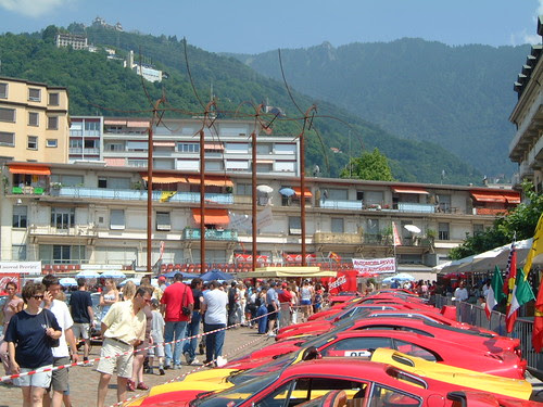 Ferrari's in Montreux