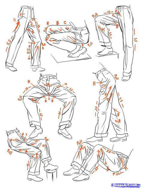 step    sketch anime clothes