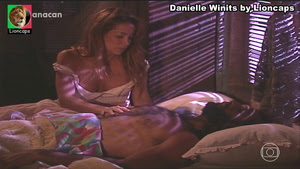 DAnielle Winits sensual na novela Kubanacan