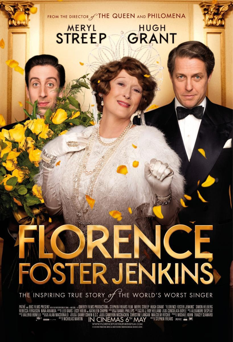 Resultado de imagen de florence foster jenkins pelicula