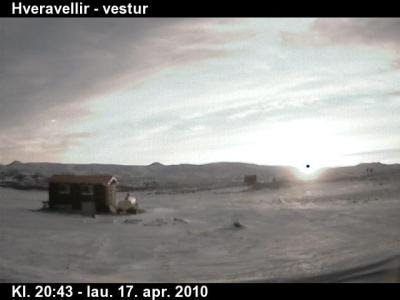 UFO Caught on Iceland Webcam