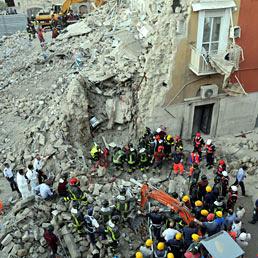 Crollo palazzina Barletta: quattro persone agli arresti (Ansa)