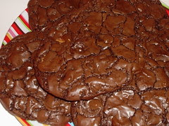Outrageous Triple Chocolate Cookies cu