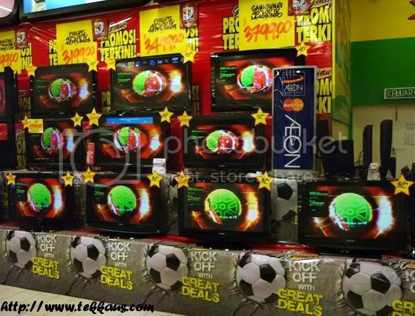 World Cup Fever, TV Plasma