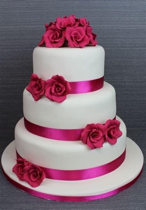 Le più belle torte nuziali fucsia   Ricevimento di nozze