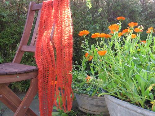Farger oransje