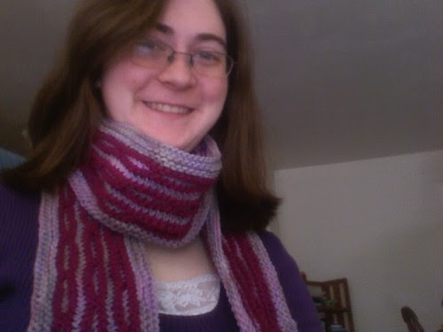 Pattern #1 Chain Link Scarf